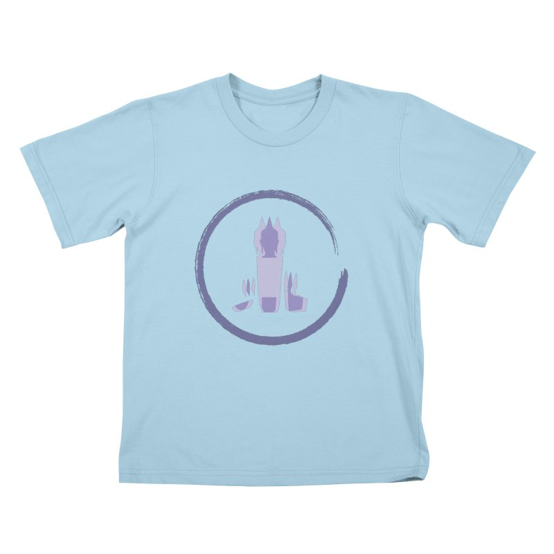 Three Headed Buddha Kids T-Shirt by tuttilu's Artist Shop