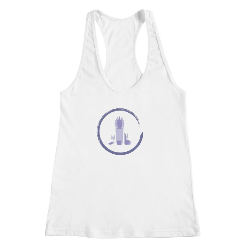 Three Headed Buddha Women's Racerback Tank by tuttilu's Artist Shop