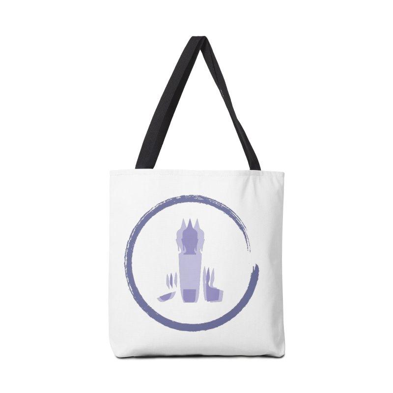 Three Headed Buddha Accessories Bag by tuttilu's Artist Shop