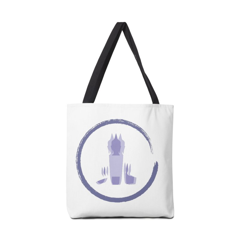 Three Headed Buddha Accessories Tote Bag Bag by tuttilu's Artist Shop