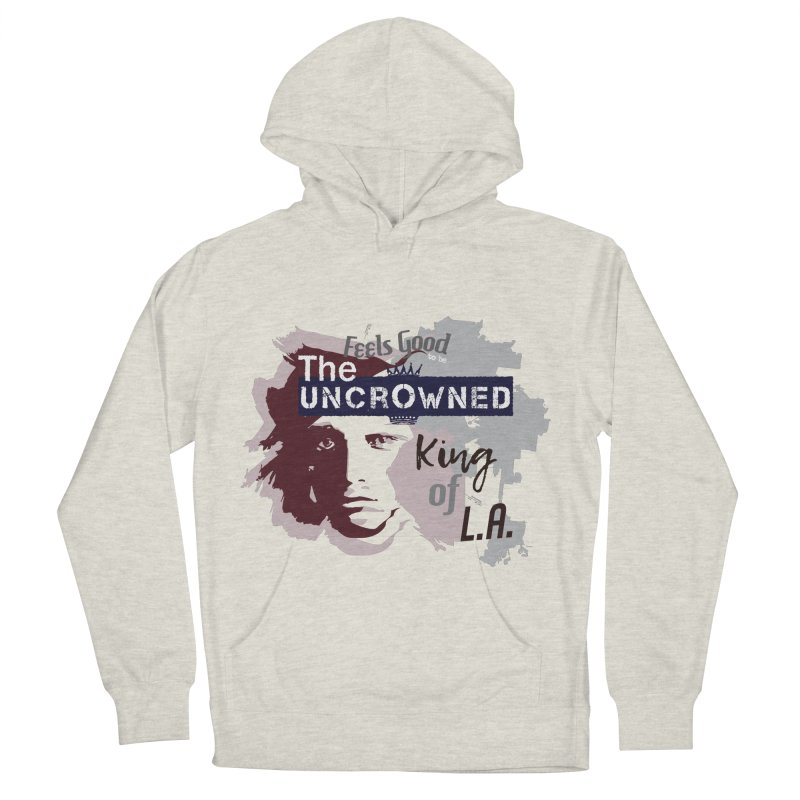 Uncrowned King of L.A. Men's French Terry Pullover Hoody by tuttilu's Artist Shop