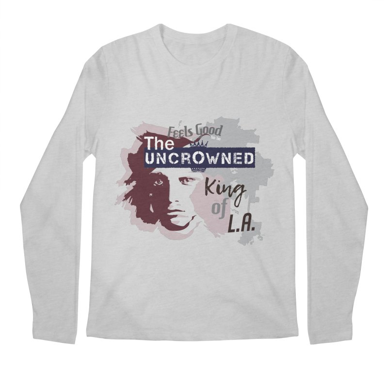 Uncrowned King of L.A. Men's Regular Longsleeve T-Shirt by tuttilu's Artist Shop