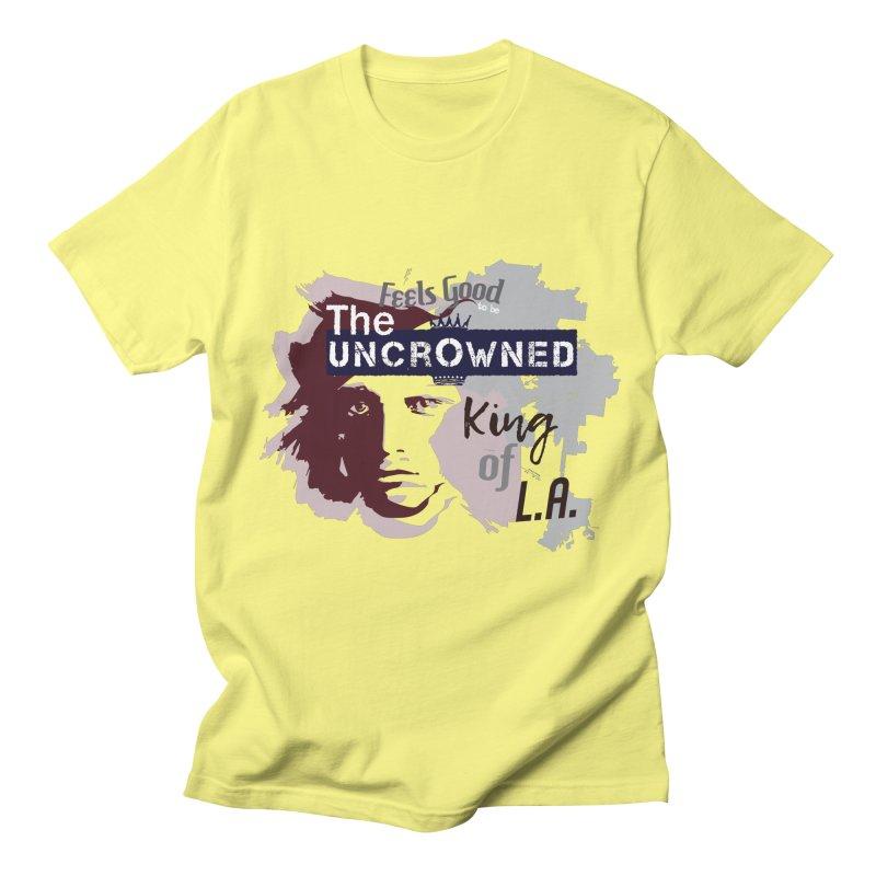 Uncrowned King of L.A. Men's T-Shirt by tuttilu's Artist Shop
