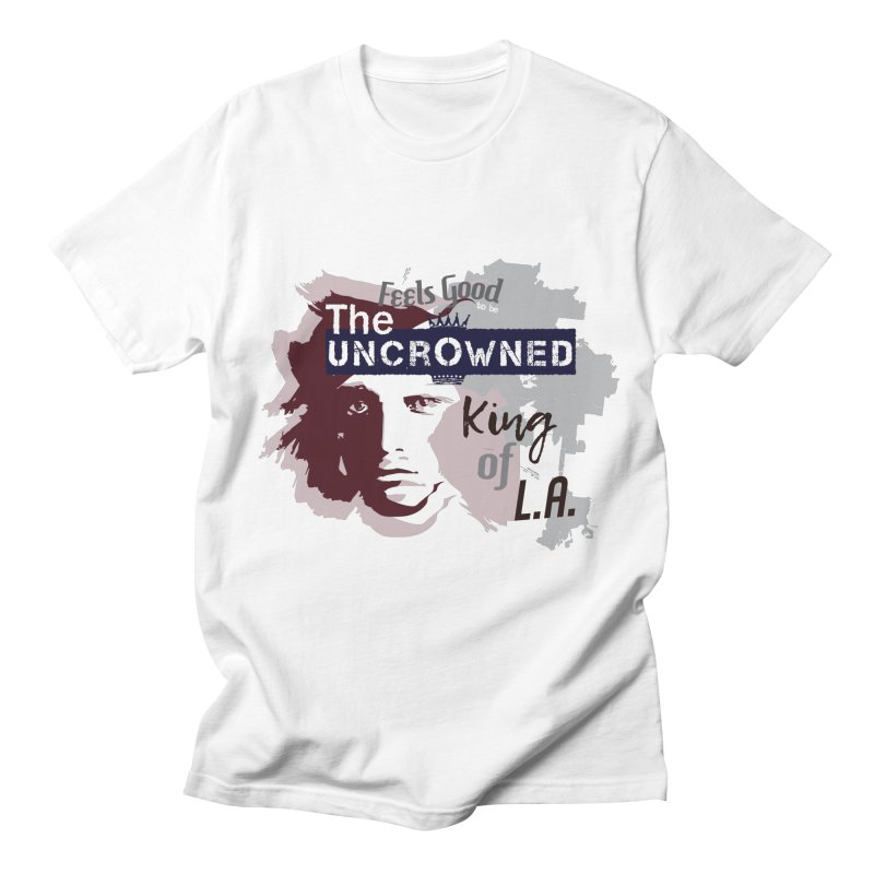 Uncrowned King of L.A. Men's Regular T-Shirt by tuttilu's Artist Shop