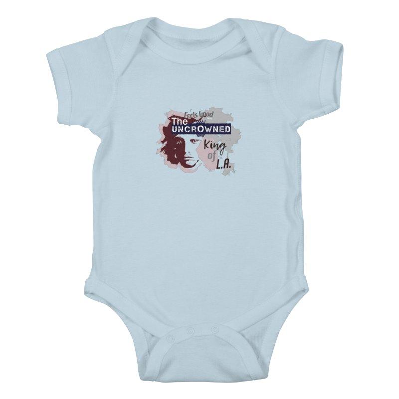 Uncrowned King of L.A. Kids Baby Bodysuit by tuttilu's Artist Shop