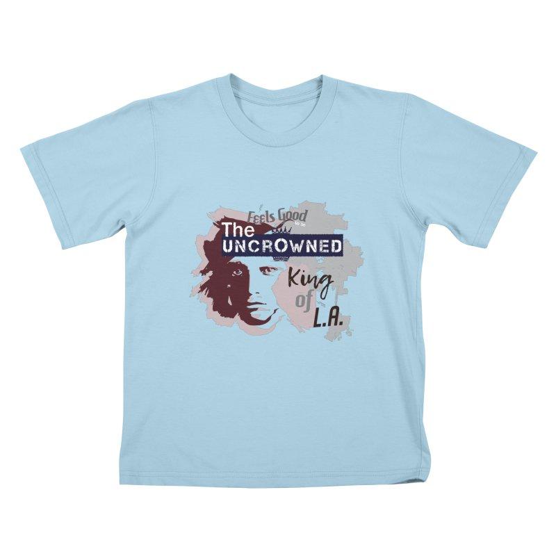 Uncrowned King of L.A. Kids T-Shirt by tuttilu's Artist Shop