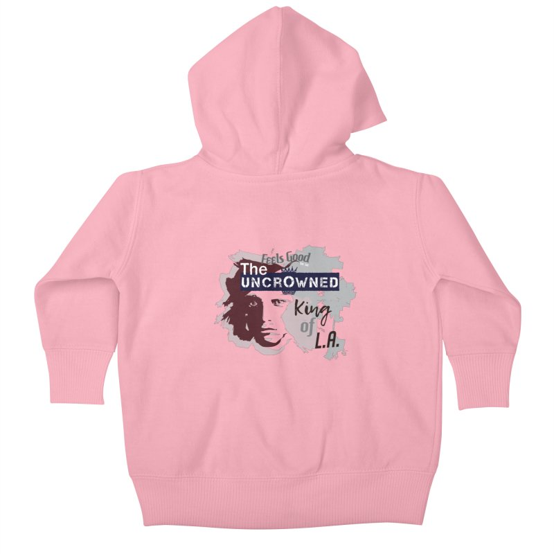 Uncrowned King of L.A. Kids Baby Zip-Up Hoody by tuttilu's Artist Shop