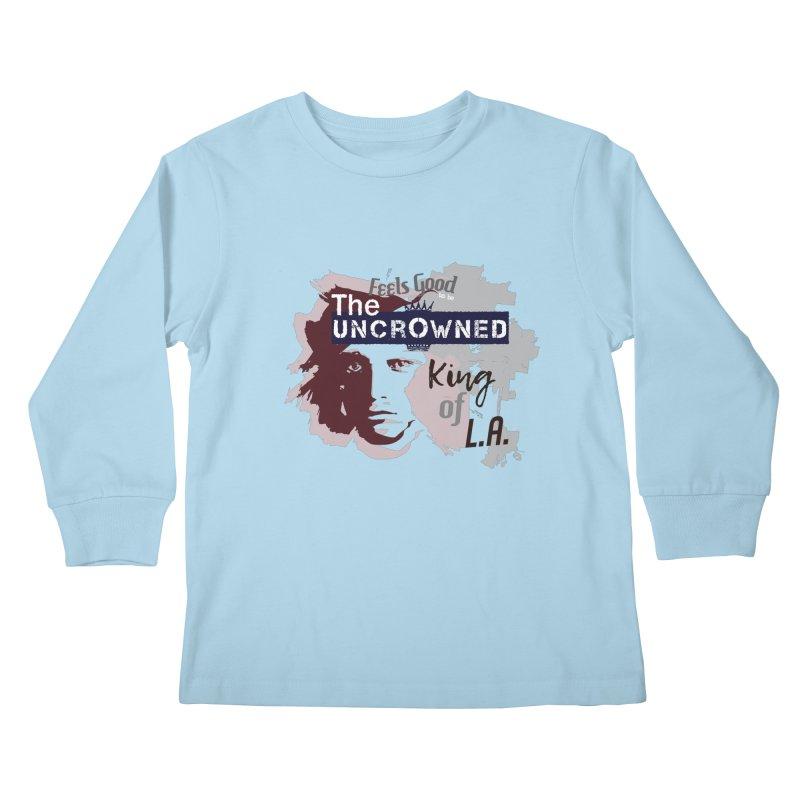 Uncrowned King of L.A. Kids Longsleeve T-Shirt by tuttilu's Artist Shop