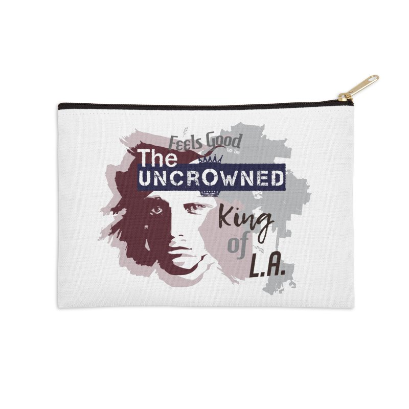 Uncrowned King of L.A. Accessories Zip Pouch by tuttilu's Artist Shop