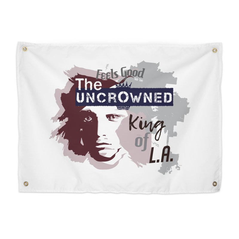 Uncrowned King of L.A. Home Tapestry by tuttilu's Artist Shop