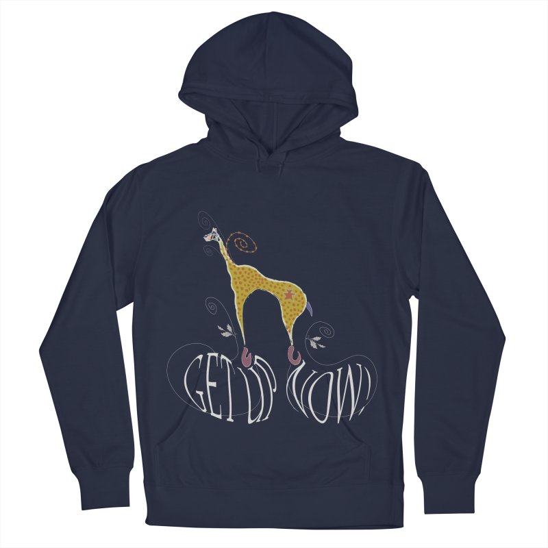 Get Up Now! Women's French Terry Pullover Hoody by tuttilu's Artist Shop