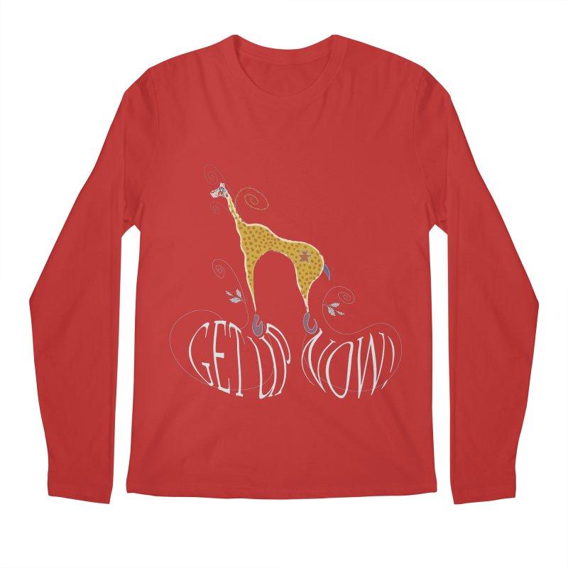Get Up Now! Men's Regular Longsleeve T-Shirt by tuttilu's Artist Shop