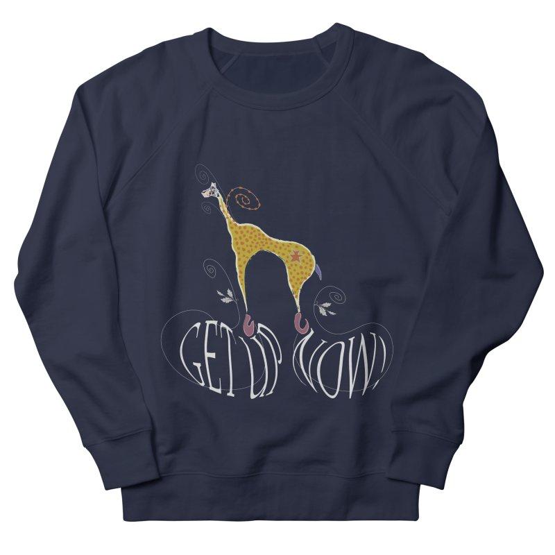 Get Up Now! Women's French Terry Sweatshirt by tuttilu's Artist Shop