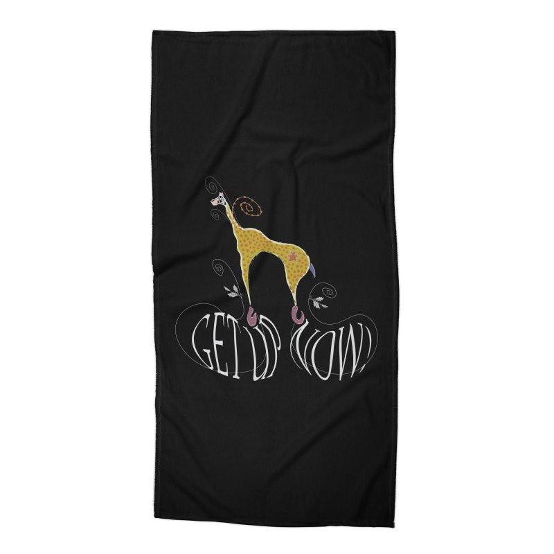 Get Up Now! Accessories Beach Towel by tuttilu's Artist Shop