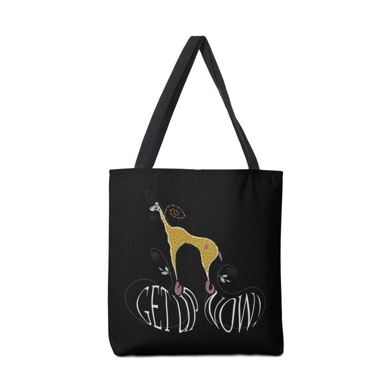 Get Up Now! Accessories Tote Bag Bag by tuttilu's Artist Shop