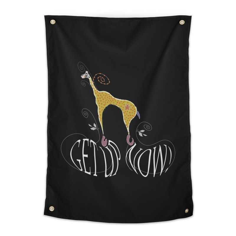 Get Up Now! Home Tapestry by tuttilu's Artist Shop