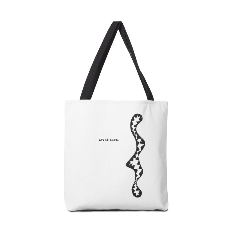 Let it Burn Accessories Tote Bag Bag by tuttilu's Artist Shop