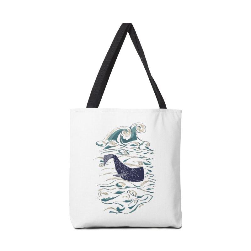 Not a Japanese Fish! Accessories Bag by tuttilu's Artist Shop
