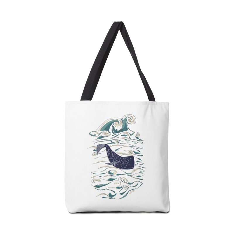 Not a Japanese Fish! Accessories Tote Bag Bag by tuttilu's Artist Shop