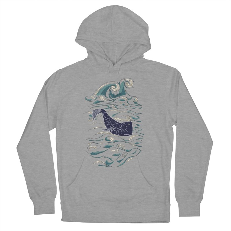 Not a Japanese Fish! Men's French Terry Pullover Hoody by tuttilu's Artist Shop