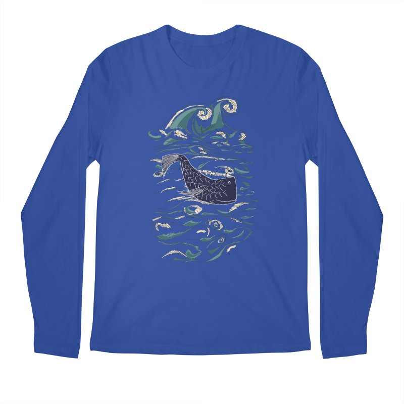 Not a Japanese Fish! Men's Regular Longsleeve T-Shirt by tuttilu's Artist Shop
