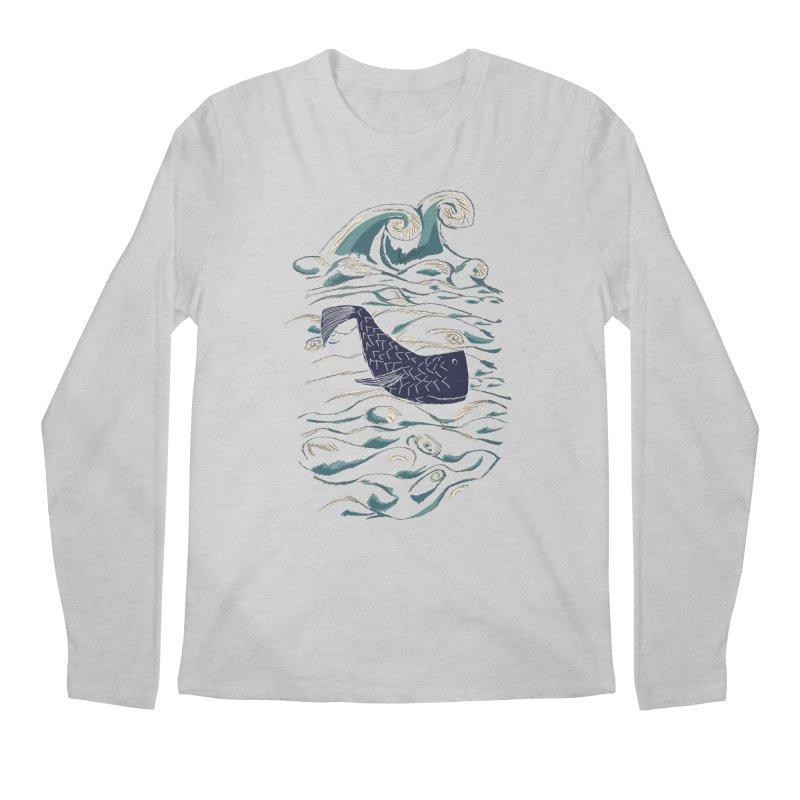 Not a Japanese Fish! Men's Regular Longsleeve T-Shirt by tuttilu's Artist Shop