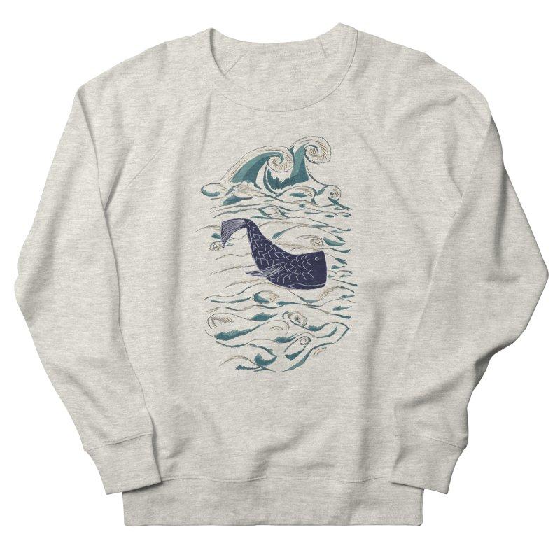 Not a Japanese Fish! Women's French Terry Sweatshirt by tuttilu's Artist Shop