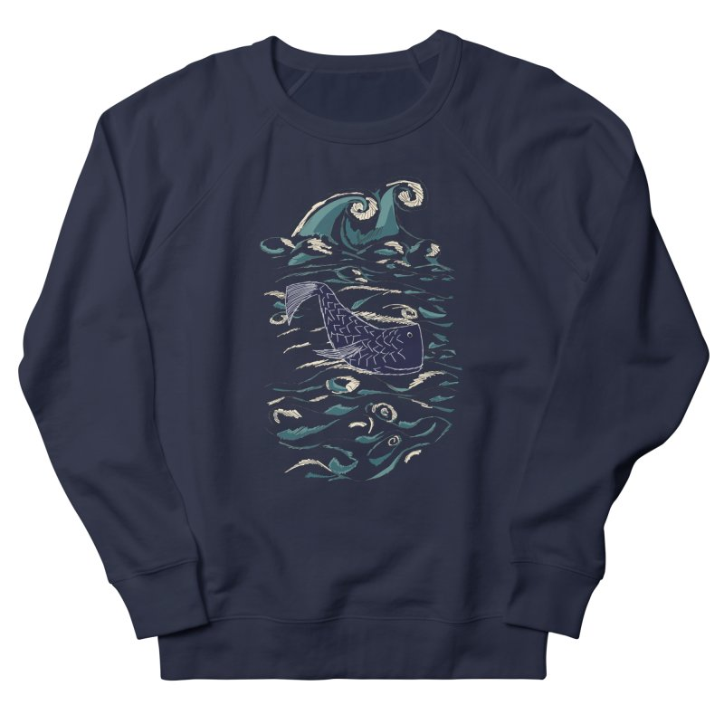 Not a Japanese Fish! Men's French Terry Sweatshirt by tuttilu's Artist Shop