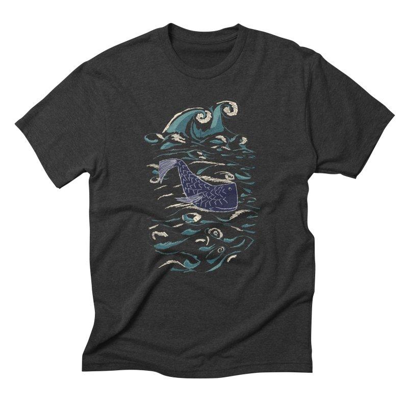 Not a Japanese Fish! Men's Triblend T-Shirt by tuttilu's Artist Shop