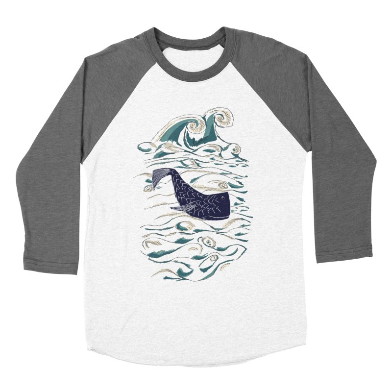Not a Japanese Fish! Women's Baseball Triblend Longsleeve T-Shirt by tuttilu's Artist Shop