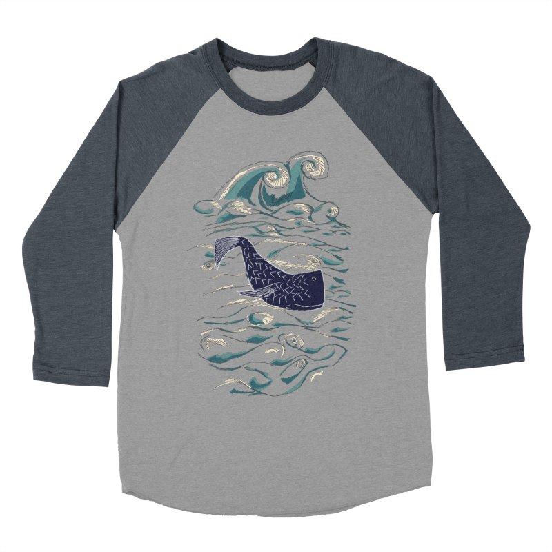 Not a Japanese Fish! Women's Baseball Triblend Longsleeve T-Shirt by tuttilu's Artist Shop