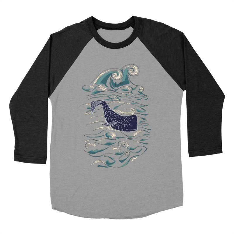 Not a Japanese Fish! Men's Baseball Triblend Longsleeve T-Shirt by tuttilu's Artist Shop