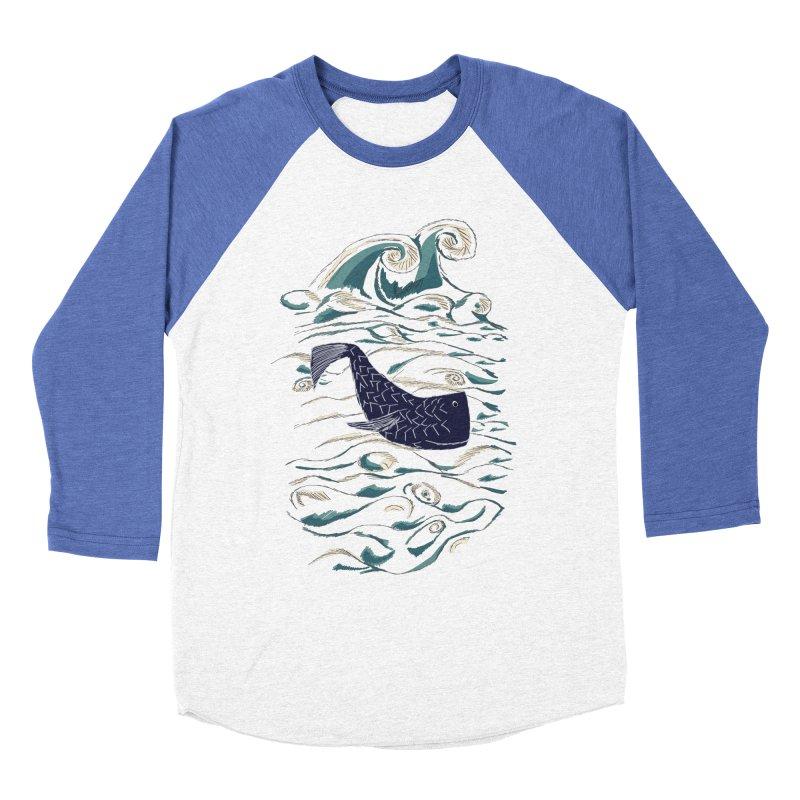 Not a Japanese Fish! Men's Baseball Triblend Longsleeve T-Shirt by tuttilu's Artist Shop