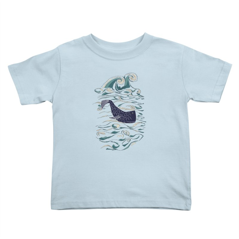 Not a Japanese Fish! Kids Toddler T-Shirt by tuttilu's Artist Shop