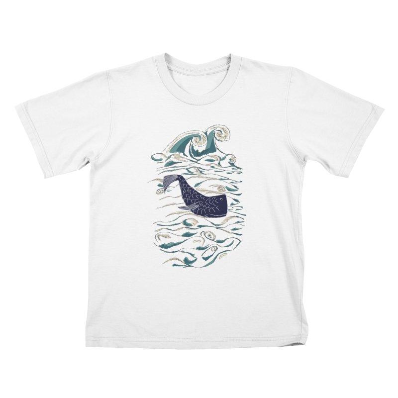 Not a Japanese Fish! Kids T-Shirt by tuttilu's Artist Shop
