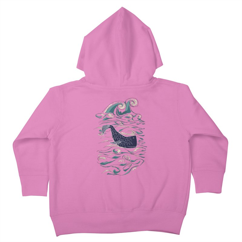 Not a Japanese Fish! Kids Toddler Zip-Up Hoody by tuttilu's Artist Shop