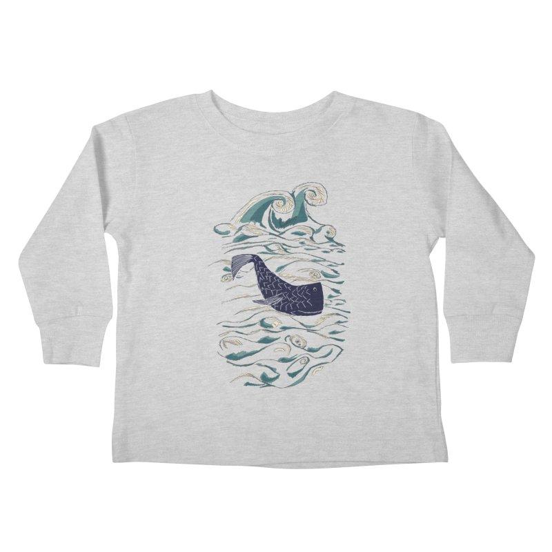 Not a Japanese Fish! Kids Toddler Longsleeve T-Shirt by tuttilu's Artist Shop