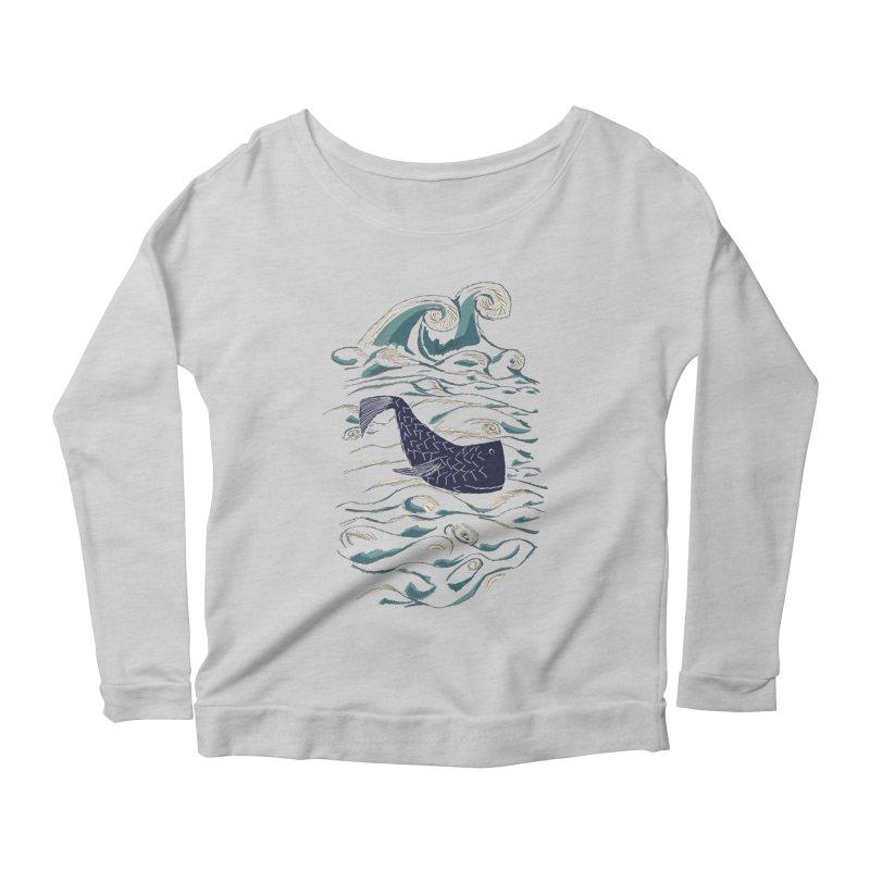 Not a Japanese Fish! Women's Scoop Neck Longsleeve T-Shirt by tuttilu's Artist Shop