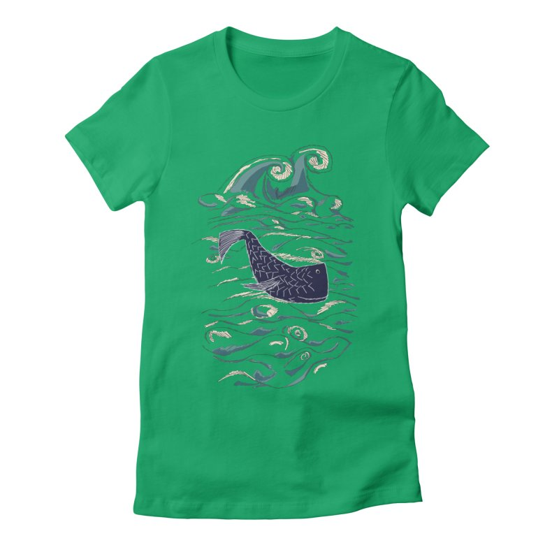 Not a Japanese Fish! Women's Fitted T-Shirt by tuttilu's Artist Shop