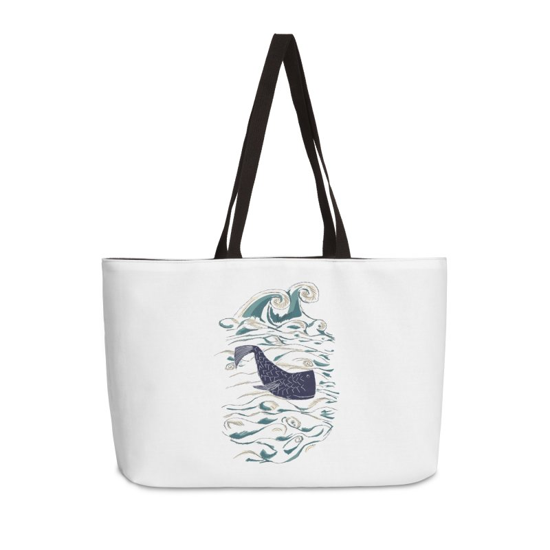 Not a Japanese Fish! Accessories Weekender Bag Bag by tuttilu's Artist Shop