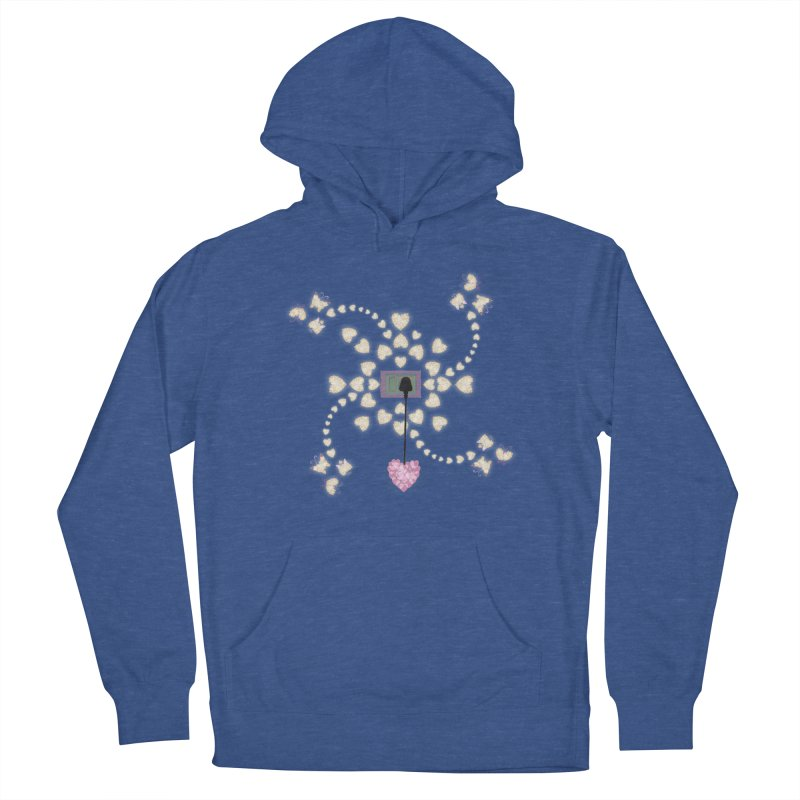 Plug into your Heart Women's French Terry Pullover Hoody by tuttilu's Artist Shop