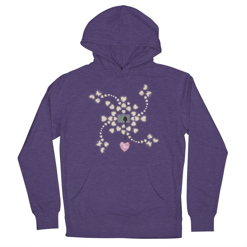 Plug into your Heart Men's French Terry Pullover Hoody by tuttilu's Artist Shop