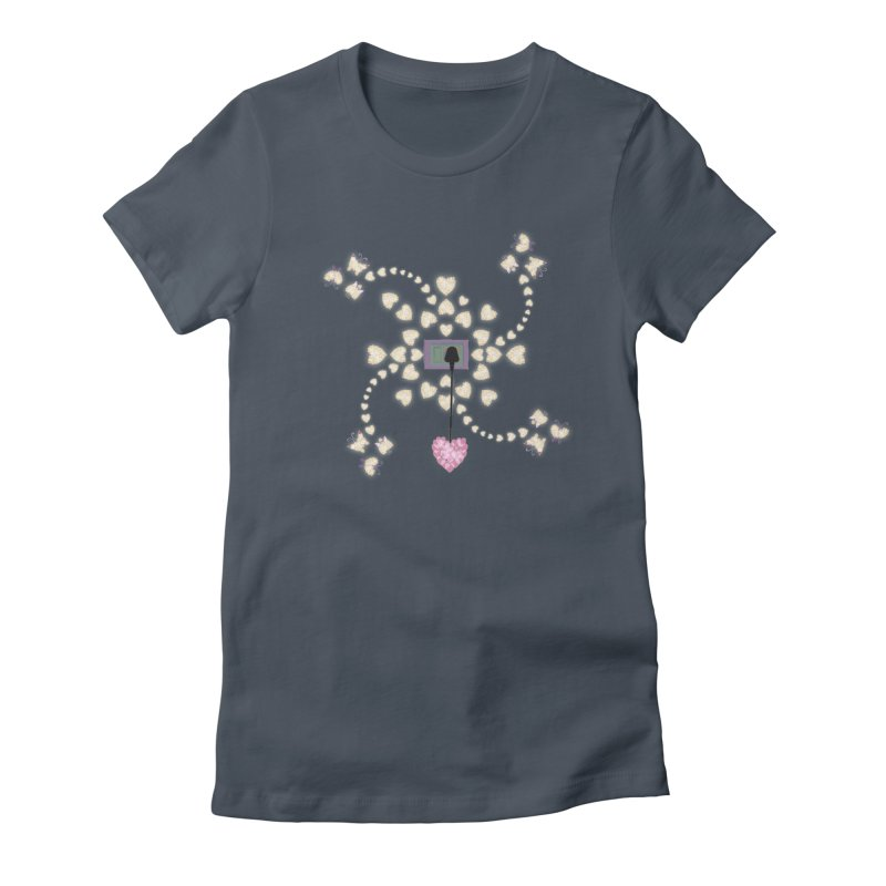 Plug into your Heart Women's T-Shirt by tuttilu's Artist Shop
