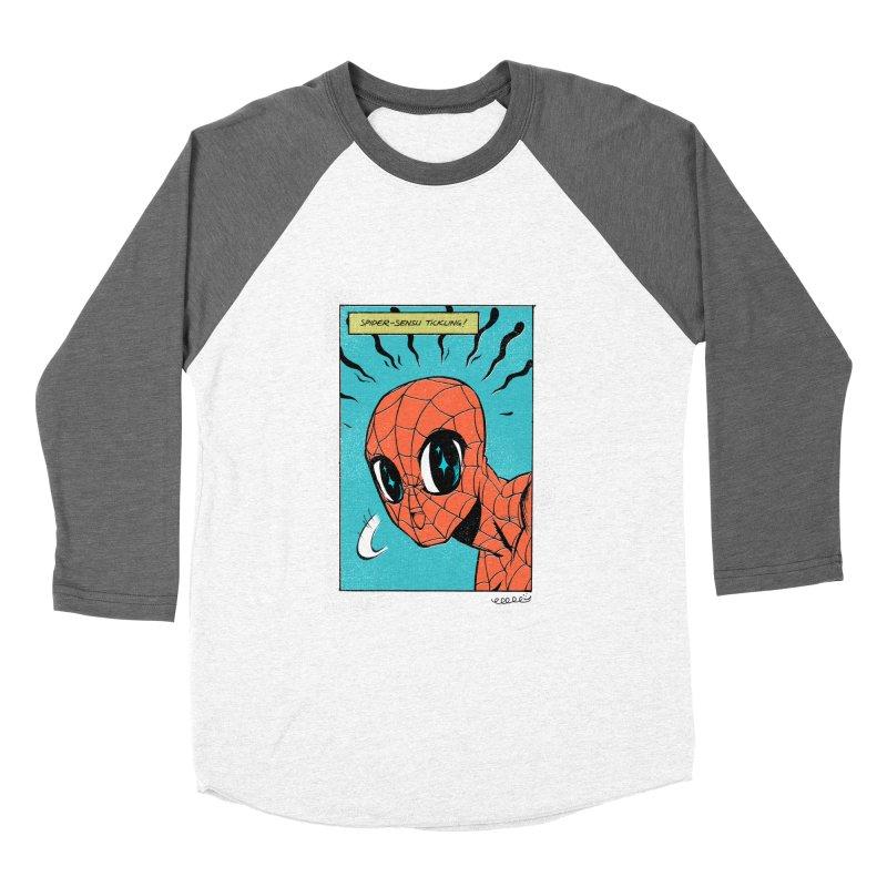 Kawaiiderman Men's Baseball Triblend T-Shirt by twei's Artist Shop