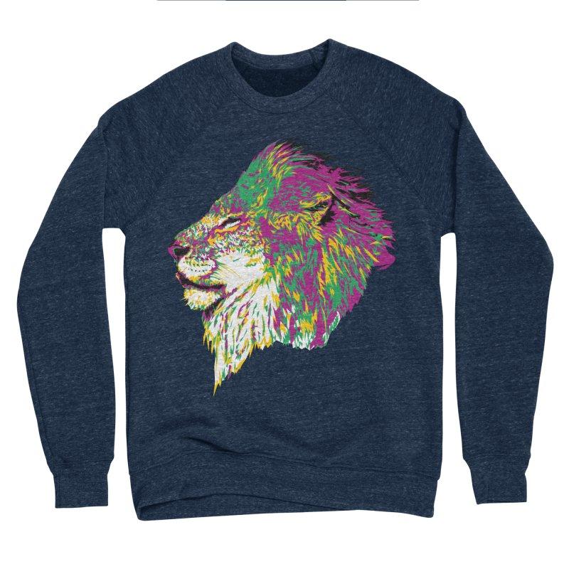 Zoological Appreciation Series: Lion Women's Sponge Fleece Sweatshirt by Twelve45 Store