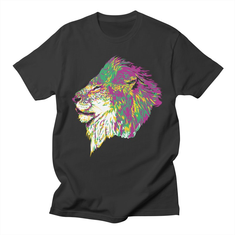 Zoological Appreciation Series: Lion Women's Regular Unisex T-Shirt by Twelve45 Store