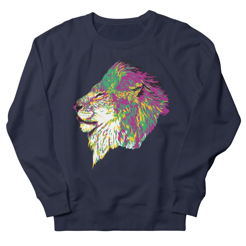 Zoological Appreciation Series: Lion Women's French Terry Sweatshirt by Twelve45 Store