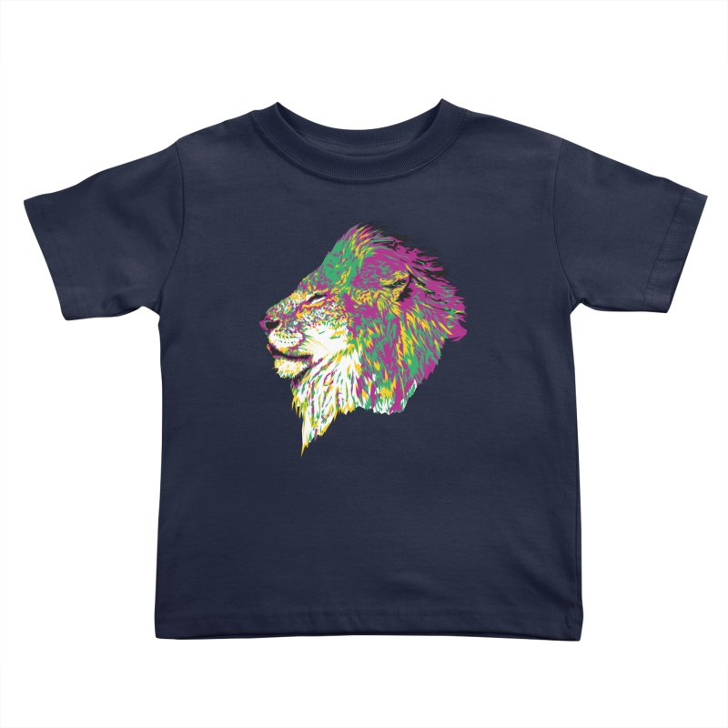 Zoological Appreciation Series: Lion Kids Toddler T-Shirt by Twelve45 Store