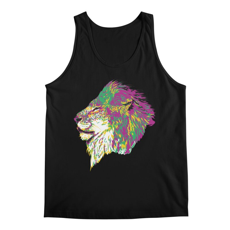 Zoological Appreciation Series: Lion Men's Regular Tank by Twelve45 Store