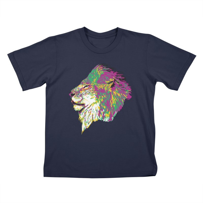 Zoological Appreciation Series: Lion Kids T-Shirt by Twelve45 Store